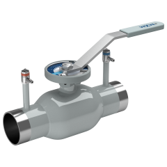 Balancing ball valves stainless steel