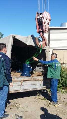 Vexve Oy:n Hydrox toimilaite saapui Tjumenin voimalaitokselle heinäkuussa 2015