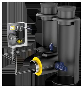 Preinsulated valve