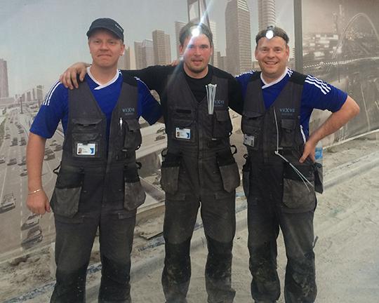 Vexve Service Team