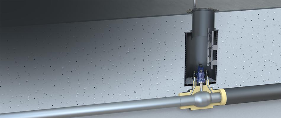 Perma-Pipe Vexve underground solution
